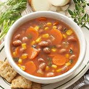 Beans & Veg. Soup