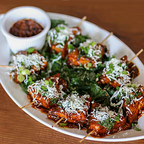 Crispy Spinach cottage Cheese