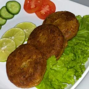 Green Sami Kabab