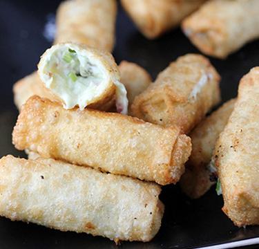 Jalapeno Cheese Rolls