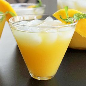 Mango Ginger Ice Tea