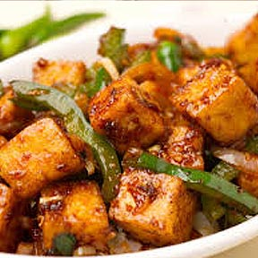 Paneer Chilly Dry