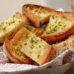 Papas Corn Quseso with Garlic Bread