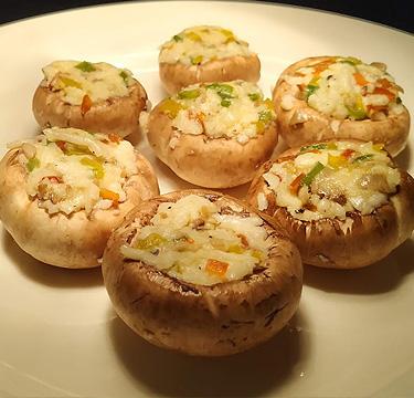 Tandoori Stuffed Mushroom